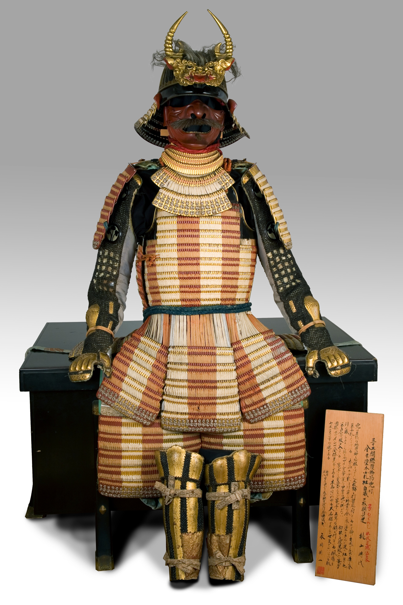 Original samurai armor for sale