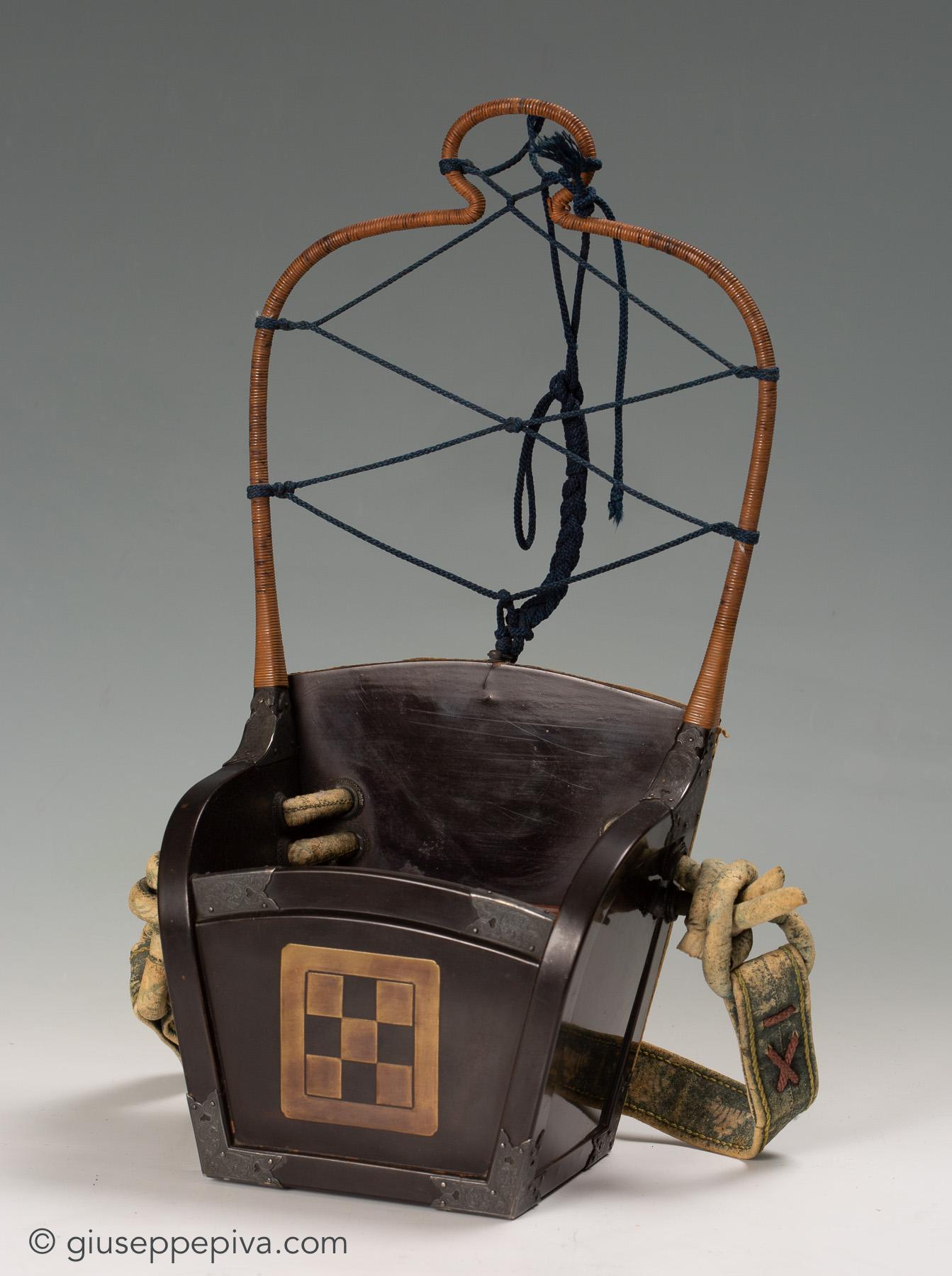 evira Faretra da samurai Metà del periodo Edo, 17º-18º secolo