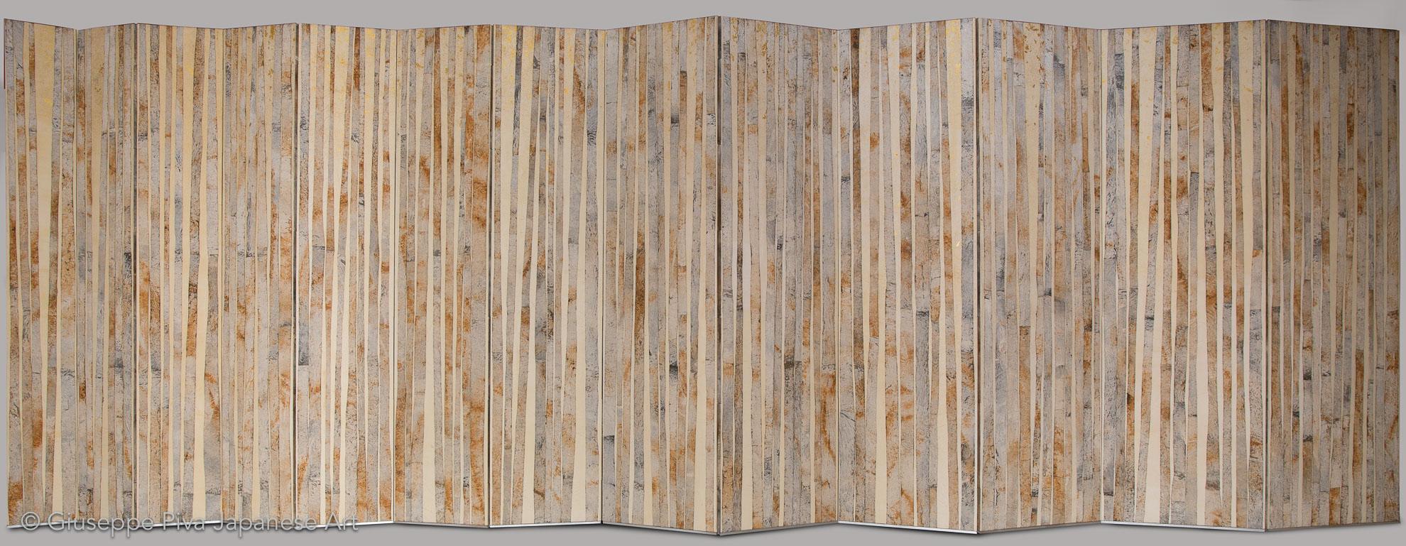 Composizione con bambù