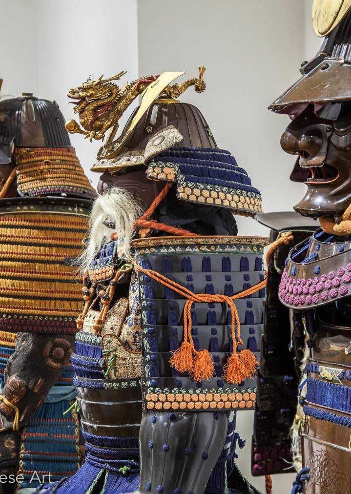 Giuseppe Piva - Samurai armors