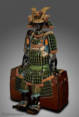 Armatura da samurai con corazza di tipo mogami, 18º secolo
