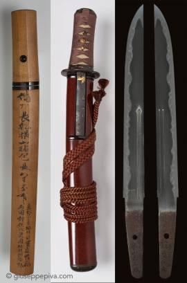 Tanto in koshirae Shishinto, 19th century, attributed to Kanzan